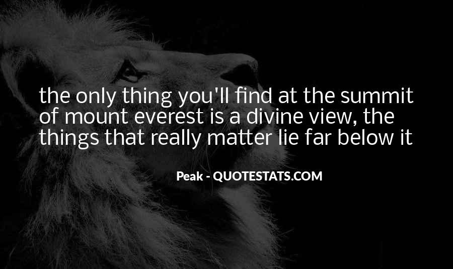 Peak Quotes #899521