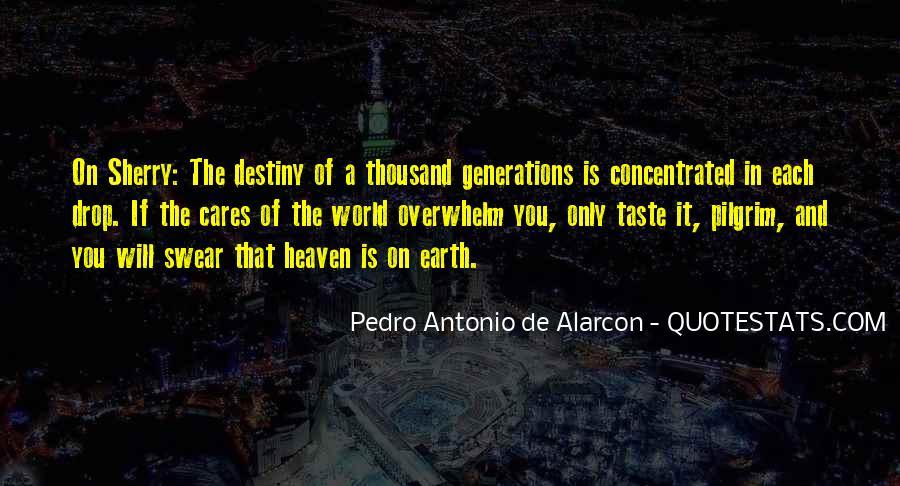 Pedro Antonio De Alarcon Quotes #694736