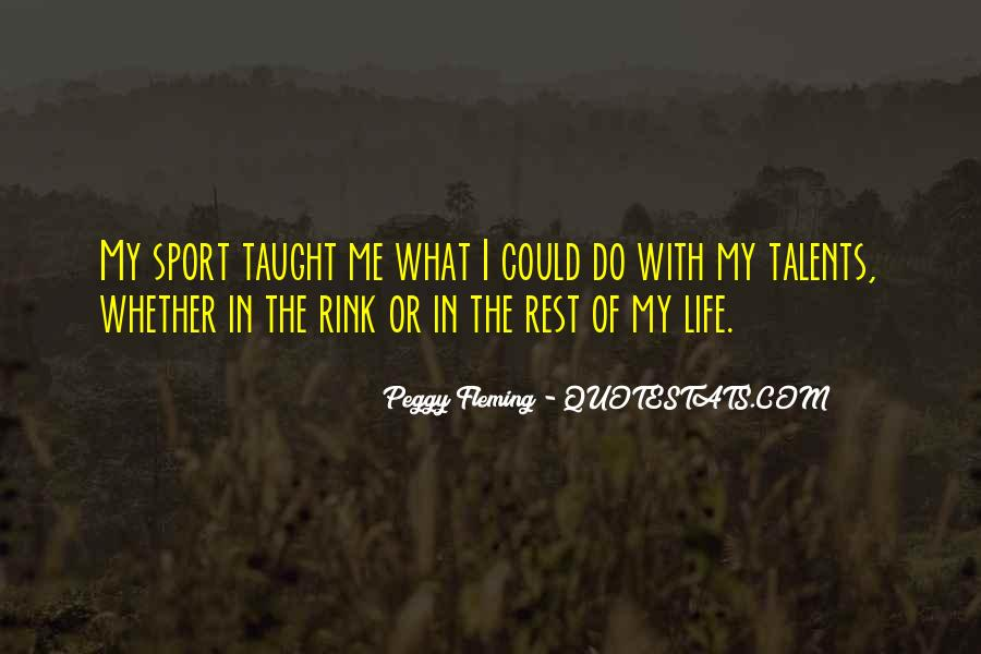 Peggy Fleming Quotes #1350023