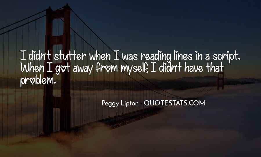 Peggy Lipton Quotes #246594
