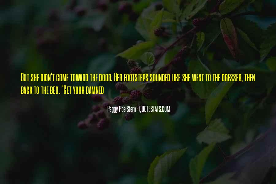 Peggy Poe Stern Quotes #688779