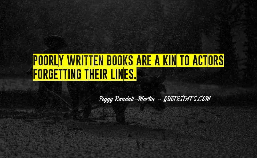 Peggy Randall-Martin Quotes #683339