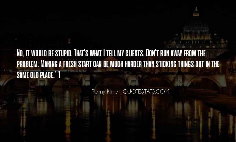 Penny Kline Quotes #1231204