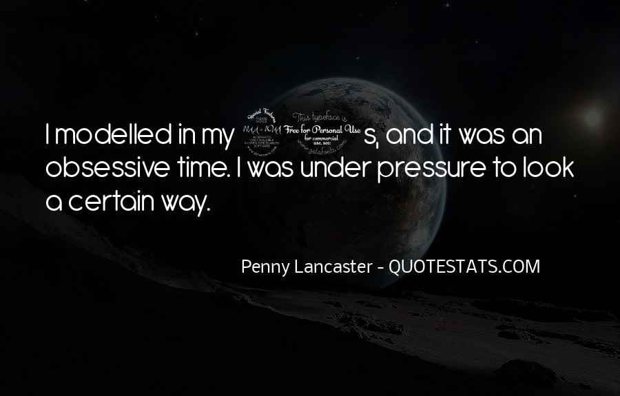 Penny Lancaster Quotes #231251