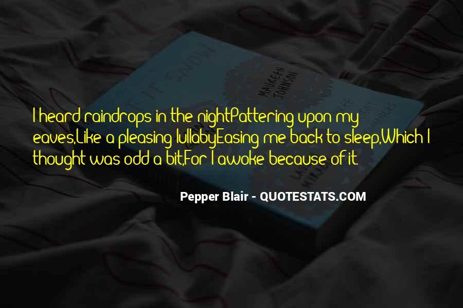 Pepper Blair Quotes #1753141