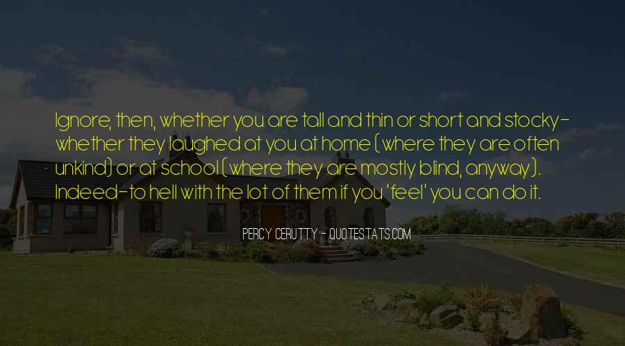 Percy Cerutty Quotes #1876245