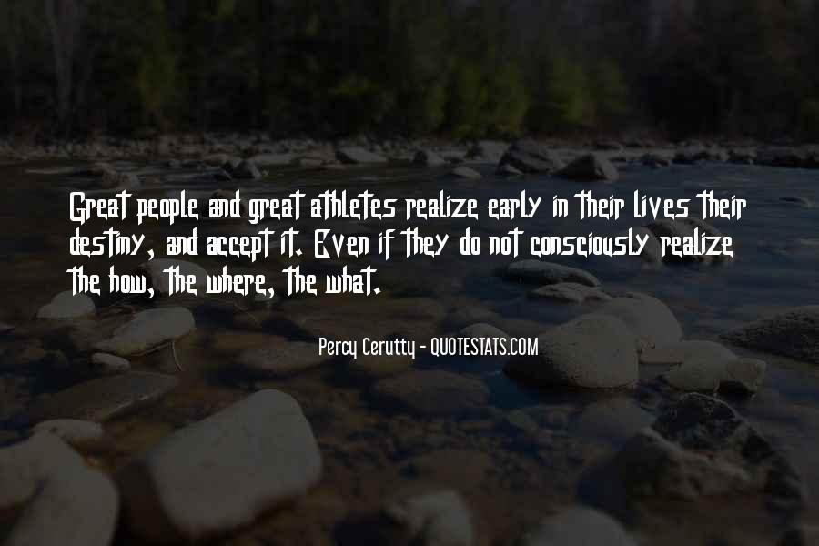 Percy Cerutty Quotes #407538