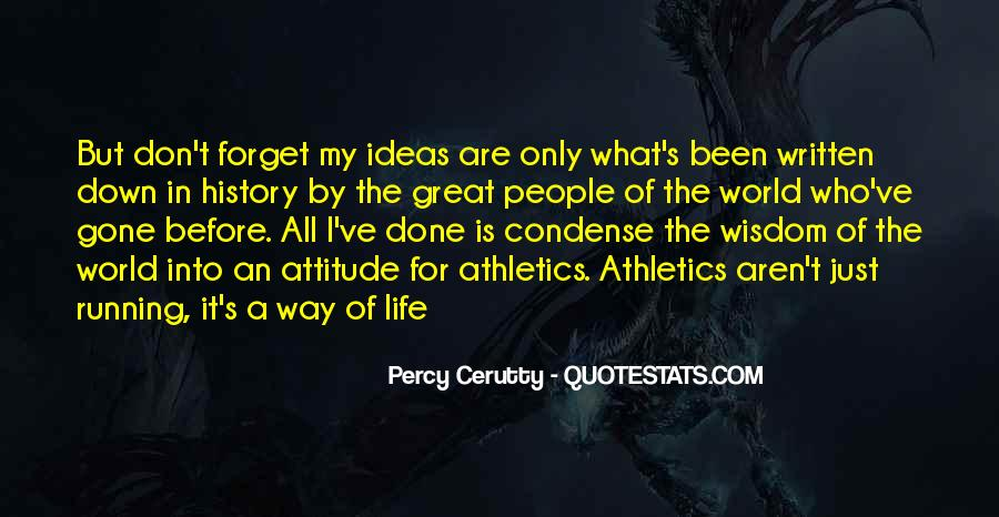 Percy Cerutty Quotes #413901