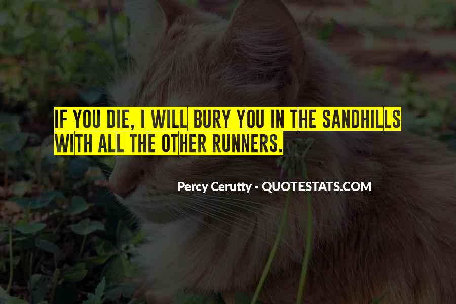 Percy Cerutty Quotes #86527