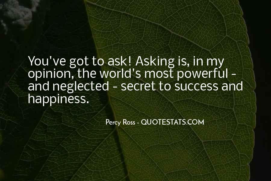 Percy Ross Quotes #91419