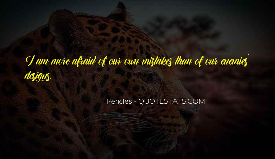 Pericles Quotes #1453187