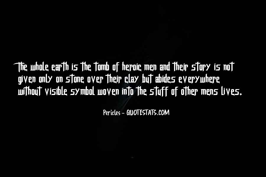 Pericles Quotes #1562226