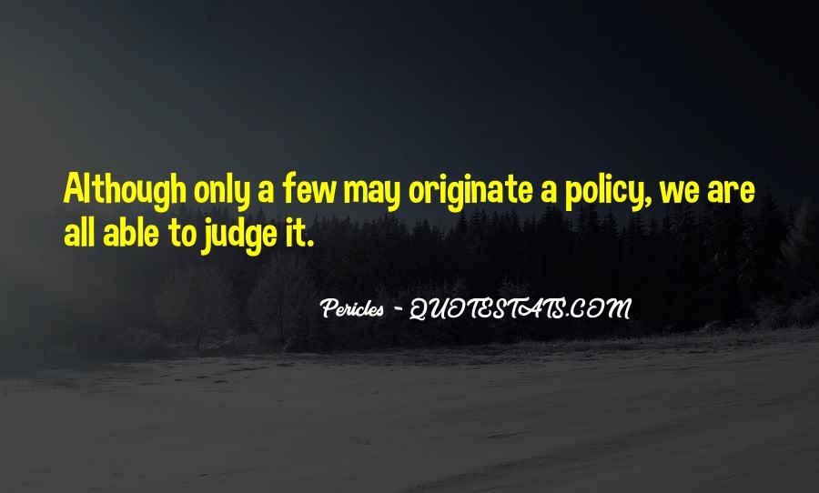 Pericles Quotes #225501
