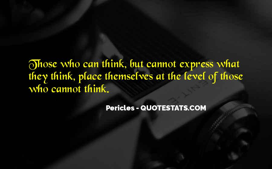 Pericles Quotes #644925