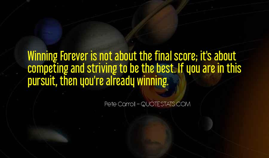 Pete Carroll Quotes #1711740