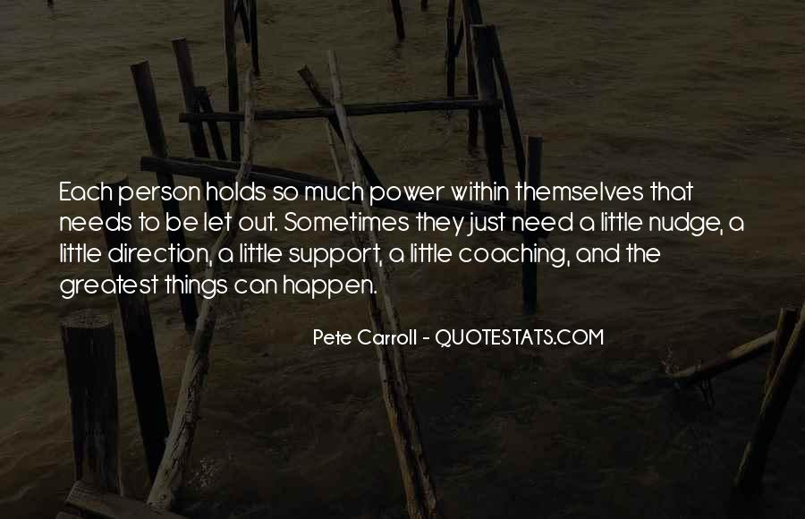 Pete Carroll Quotes #619851