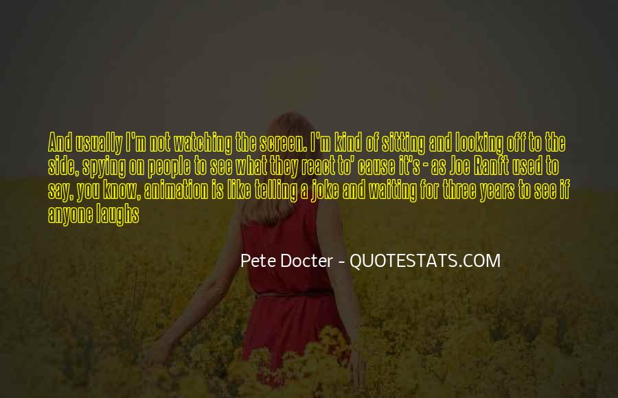 Pete Docter Quotes #1311658