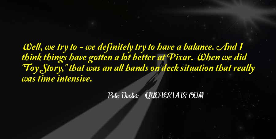 Pete Docter Quotes #1613032