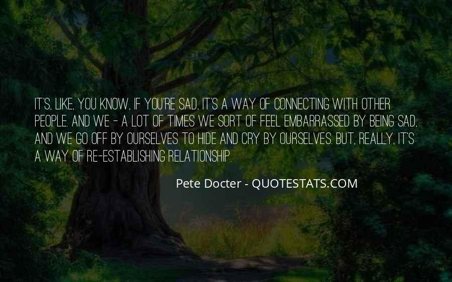 Pete Docter Quotes #1633557