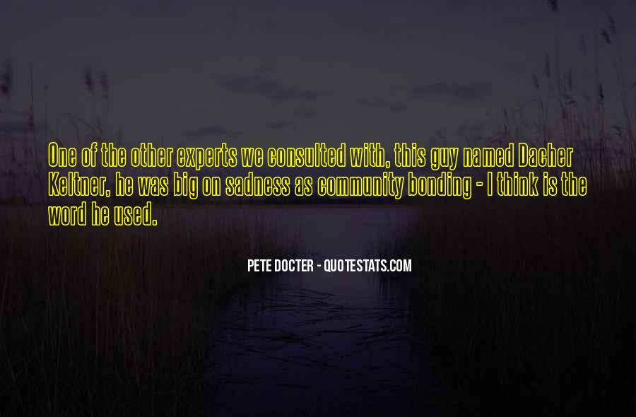 Pete Docter Quotes #477558