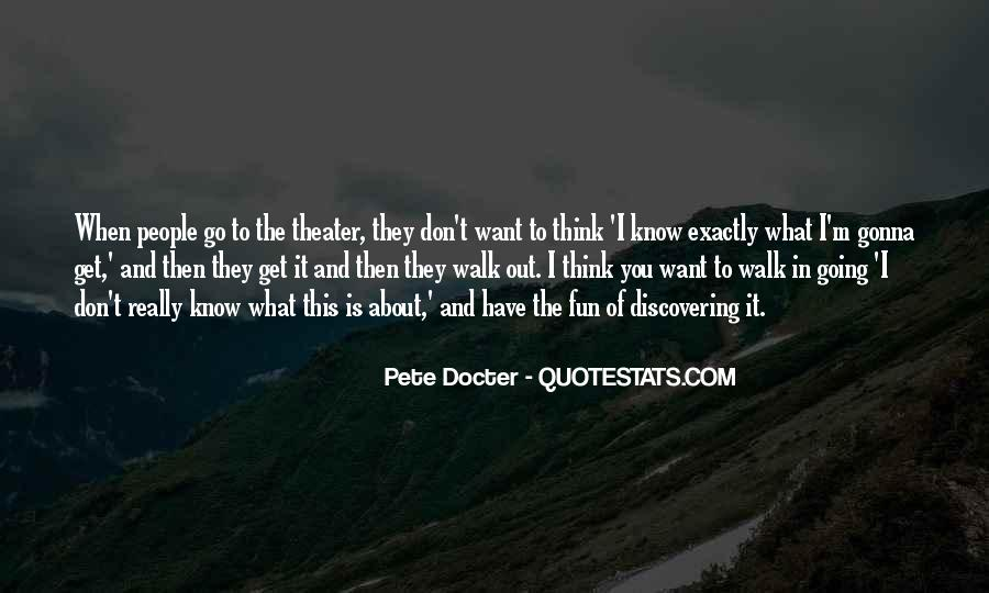 Pete Docter Quotes #843865