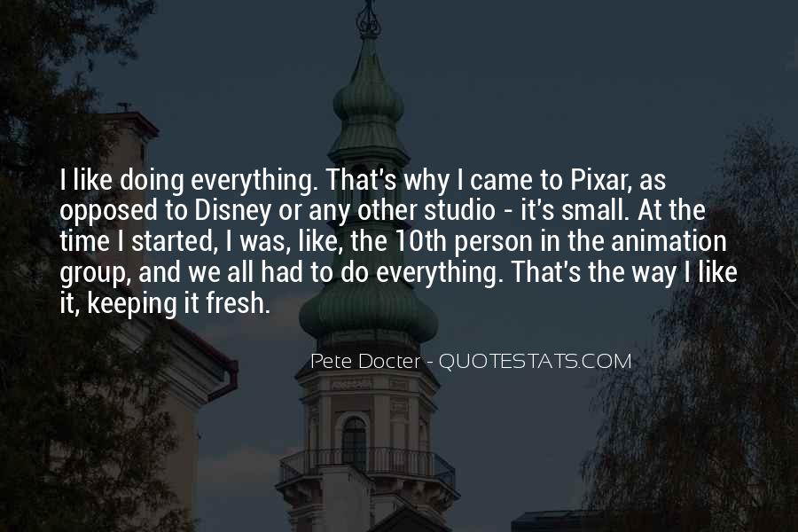 Pete Docter Quotes #850043