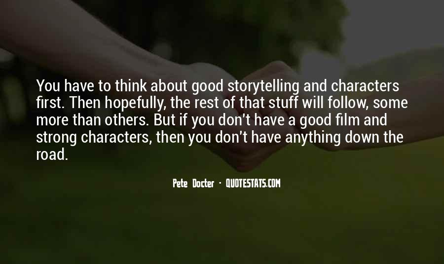 Pete Docter Quotes #931765