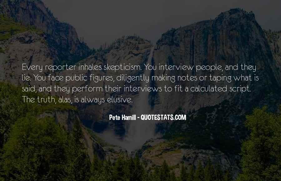 Pete Hamill Quotes #1050774