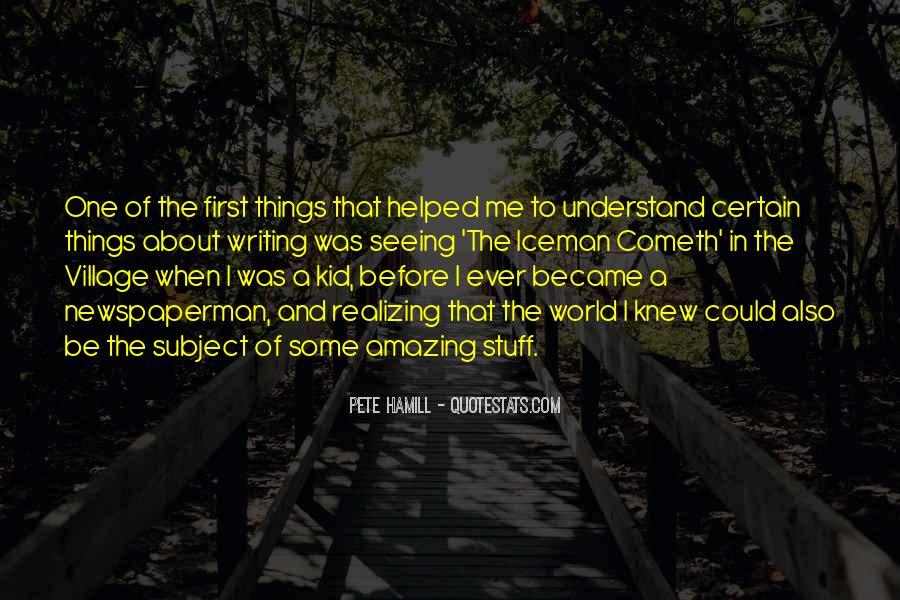 Pete Hamill Quotes #1174603