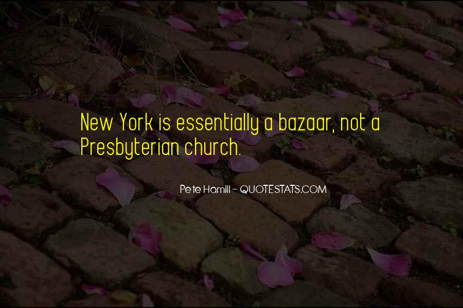 Pete Hamill Quotes #1261521