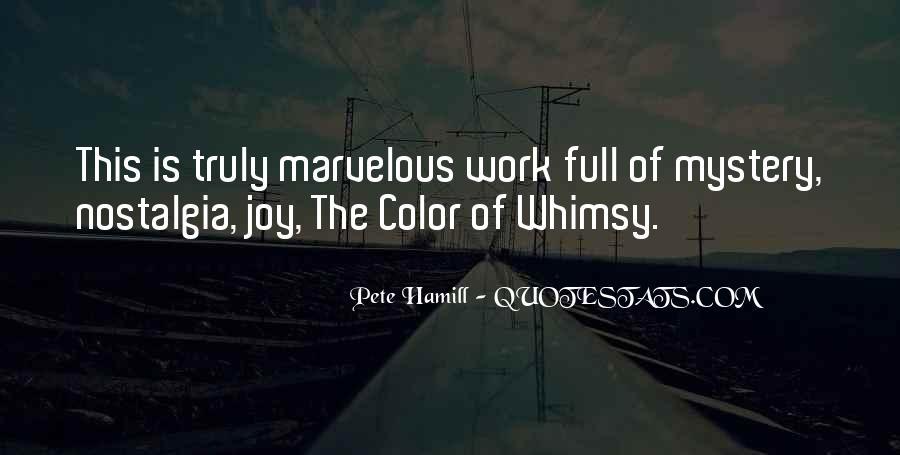 Pete Hamill Quotes #1425504