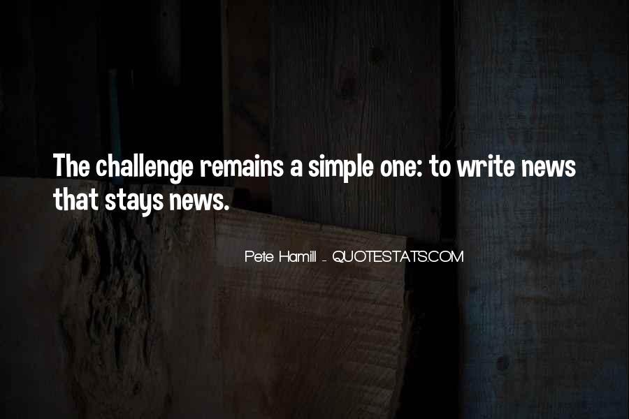 Pete Hamill Quotes #1718096