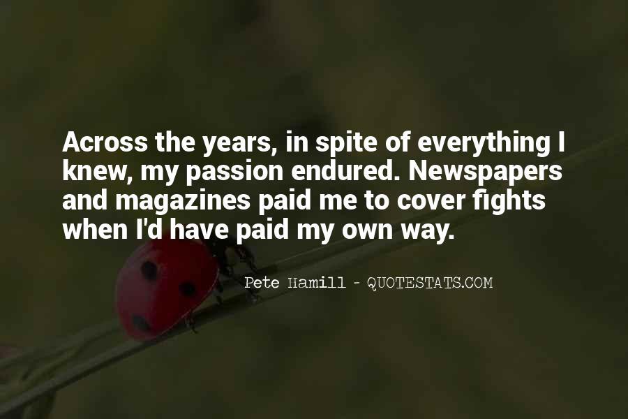 Pete Hamill Quotes #1774354