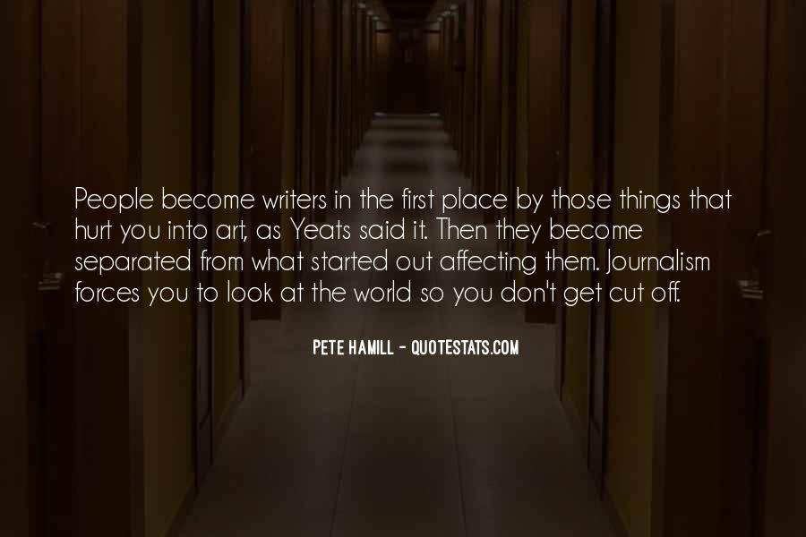 Pete Hamill Quotes #1847136