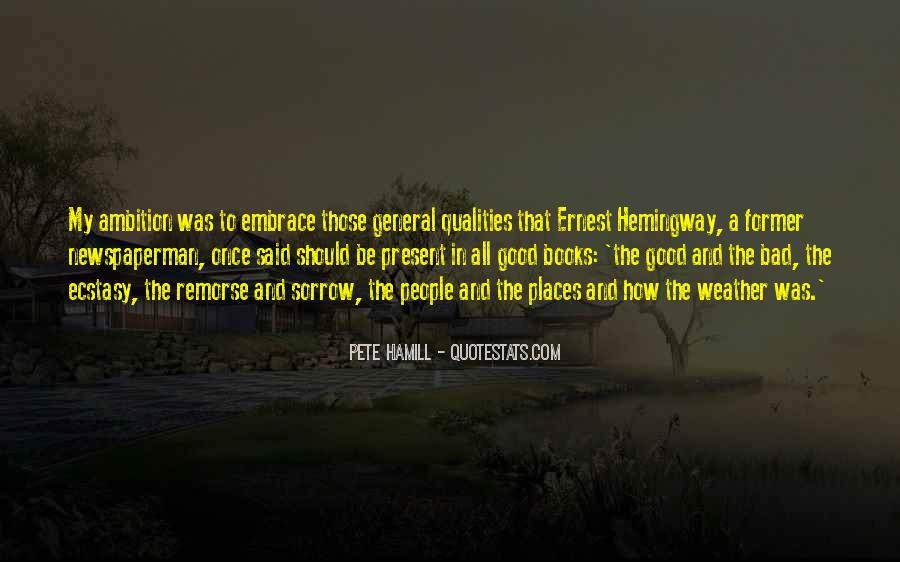Pete Hamill Quotes #235993