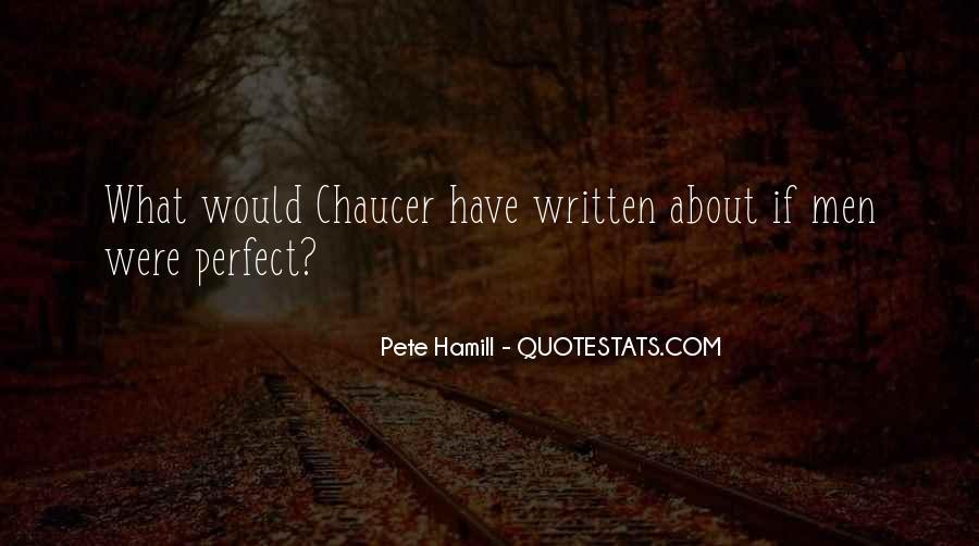 Pete Hamill Quotes #259888