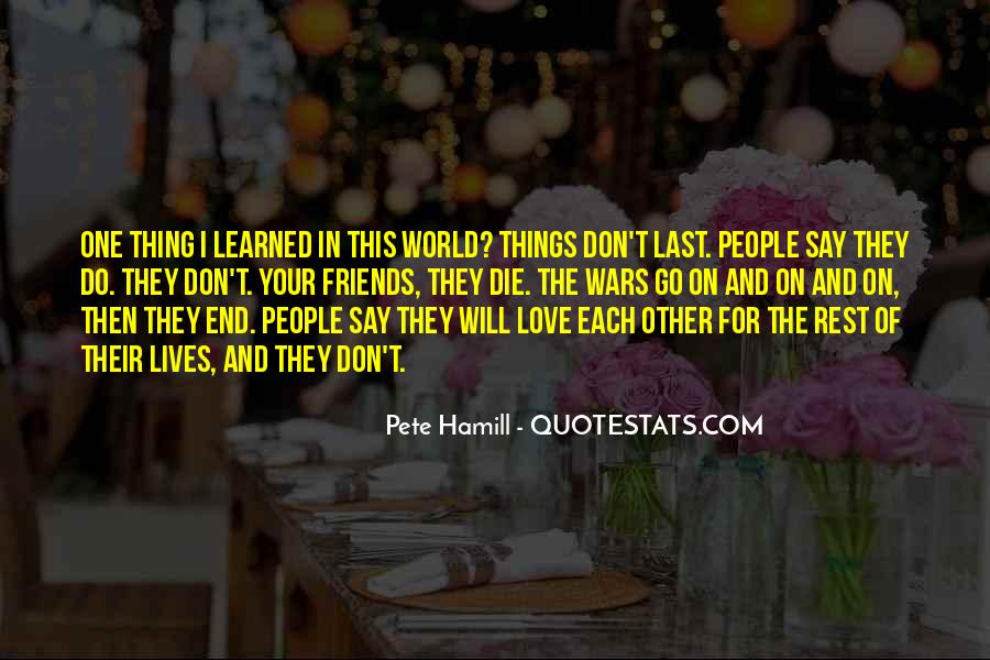 Pete Hamill Quotes #352925