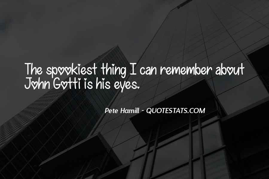 Pete Hamill Quotes #394610