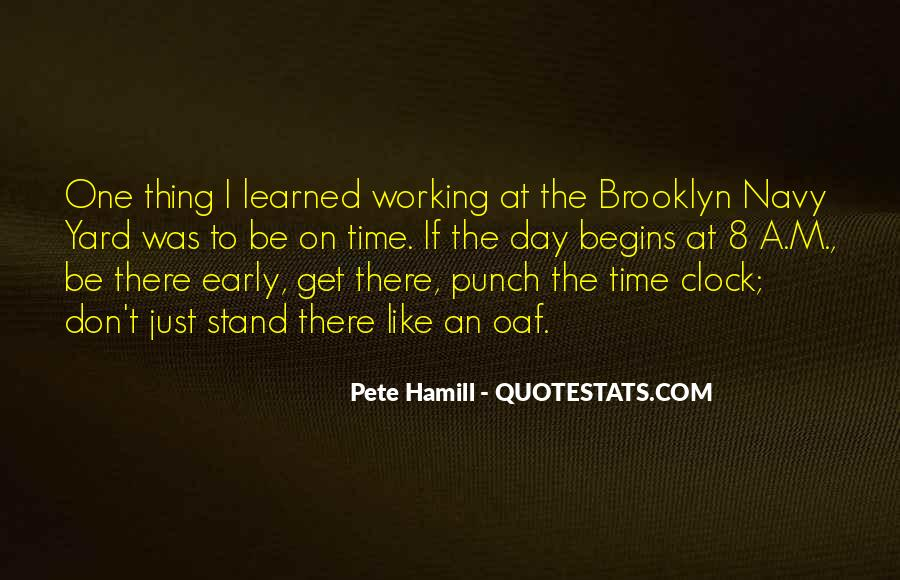 Pete Hamill Quotes #412017