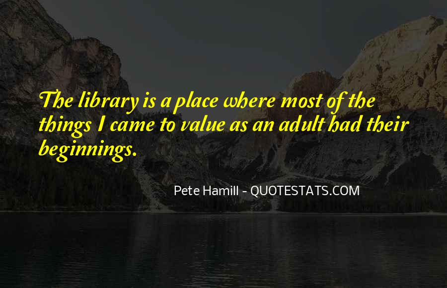 Pete Hamill Quotes #496027
