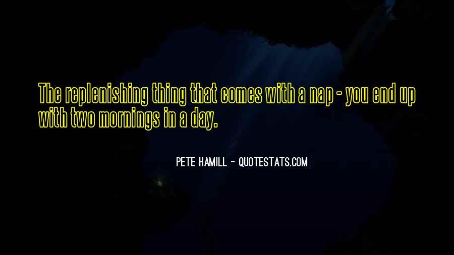 Pete Hamill Quotes #594201