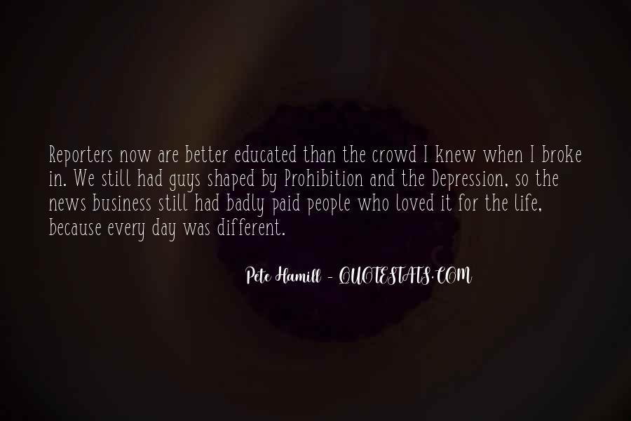 Pete Hamill Quotes #600122