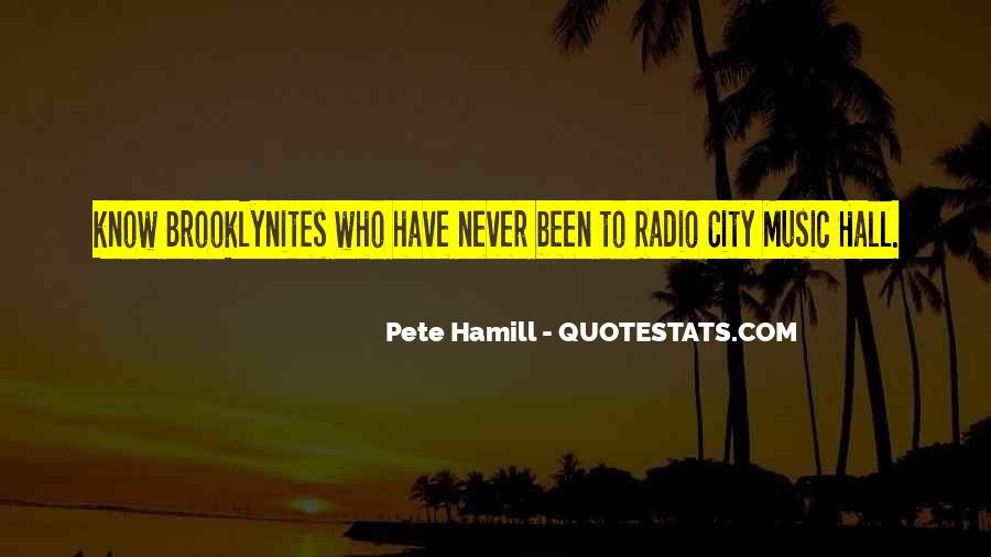 Pete Hamill Quotes #690347