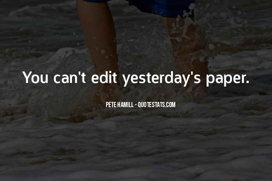 Pete Hamill Quotes #707226