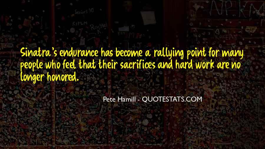 Pete Hamill Quotes #769945