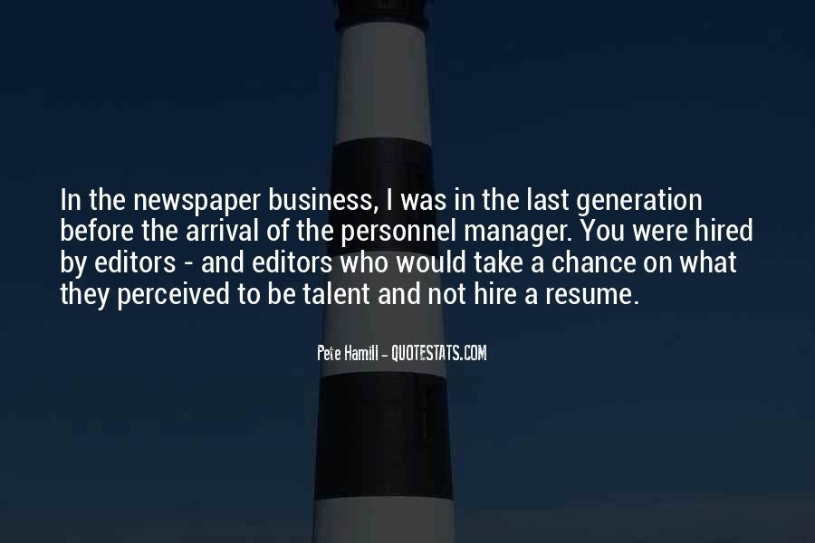 Pete Hamill Quotes #780592