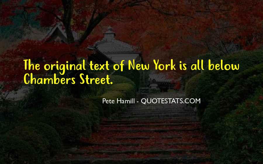 Pete Hamill Quotes #789571