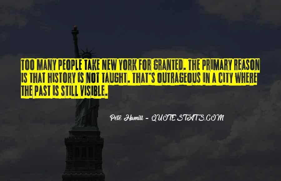 Pete Hamill Quotes #807787