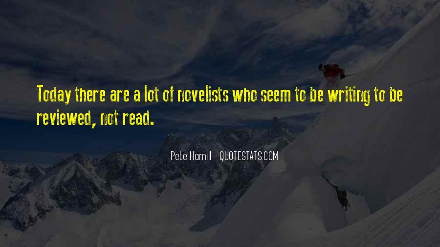 Pete Hamill Quotes #854627