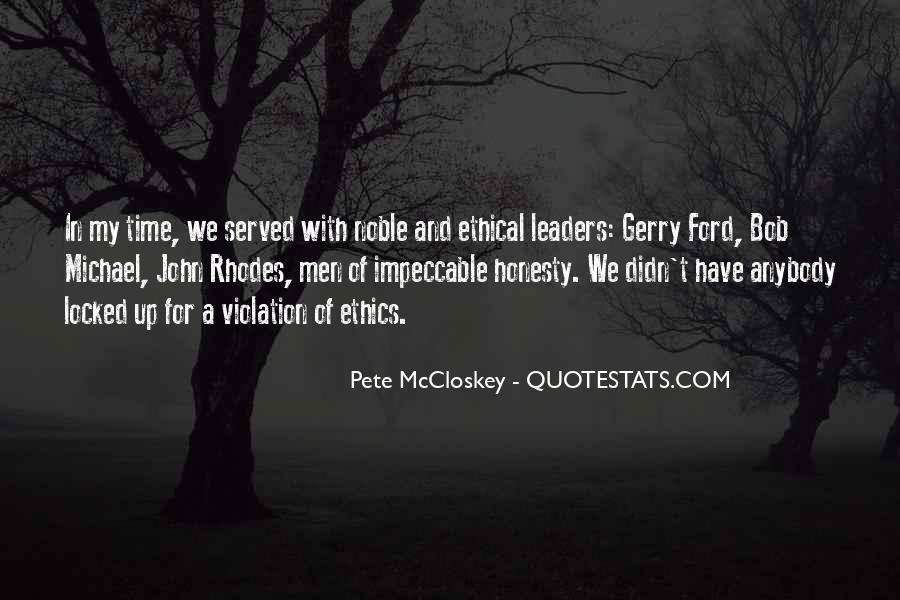 Pete McCloskey Quotes #431641